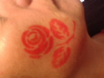 2 x English Rose face painting stencils 6 Nations rugby reusable many times England Internationals